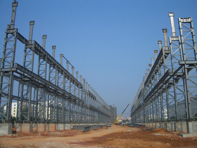 High Strength, Light Deadweight Steel Building Structures for Workshop, High-Rise Building